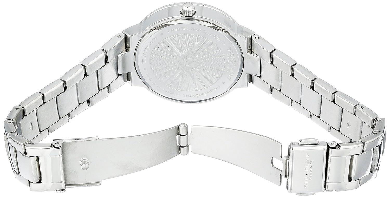 Amazon.com: Stuhrling Original Womens 743.01 Audrey Shimmer Swiss Quartz Black Dial Watch: Watches