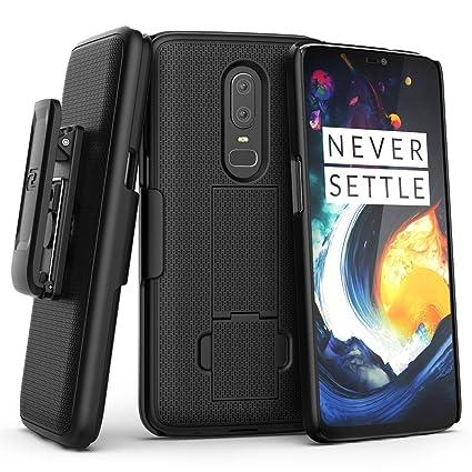 uk availability 498fc a586a Amazon.com: Encased OnePlus 6 Belt Clip Case (DuraClip) Slim Fit ...