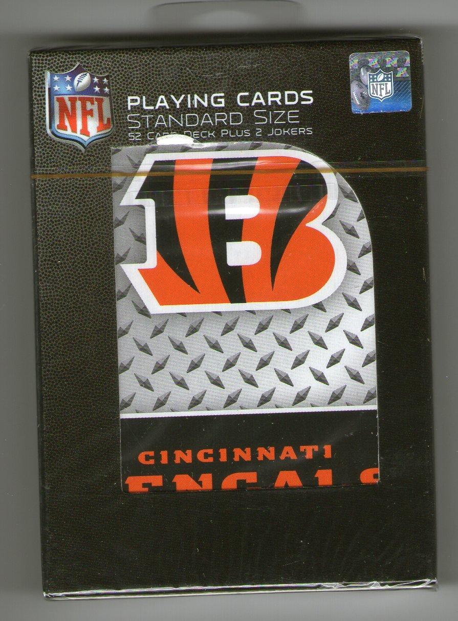 GSP Cincinnati Bengals Playing Cards PSG