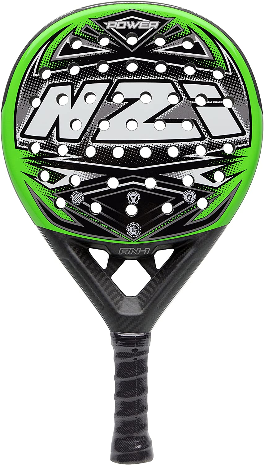 NZI Power Attack Pala de Pádel, Unisex Adulto