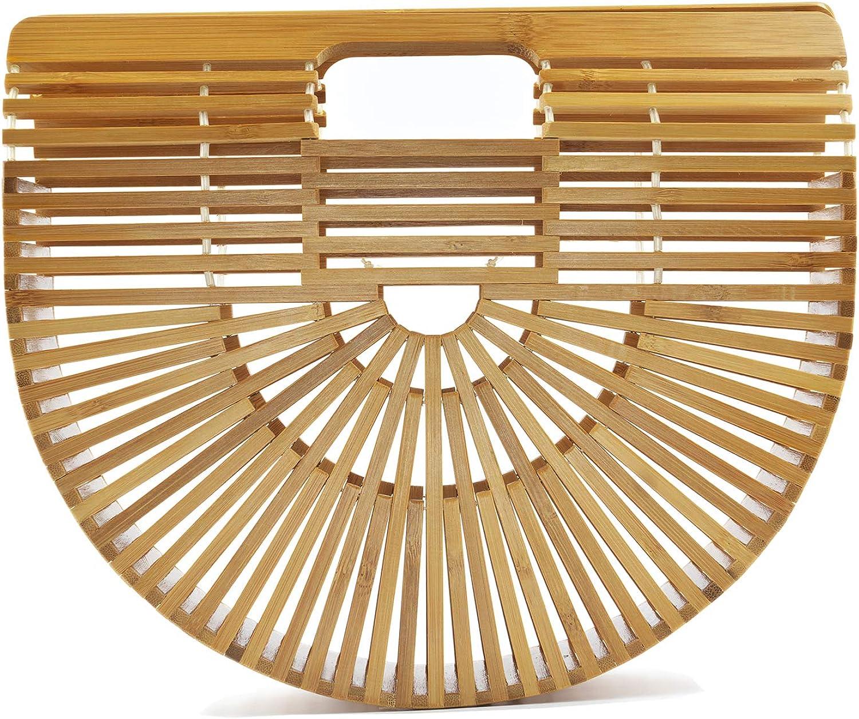 5 Pairs Bamboo Wood Hand Bag Handbag Handles High Quality