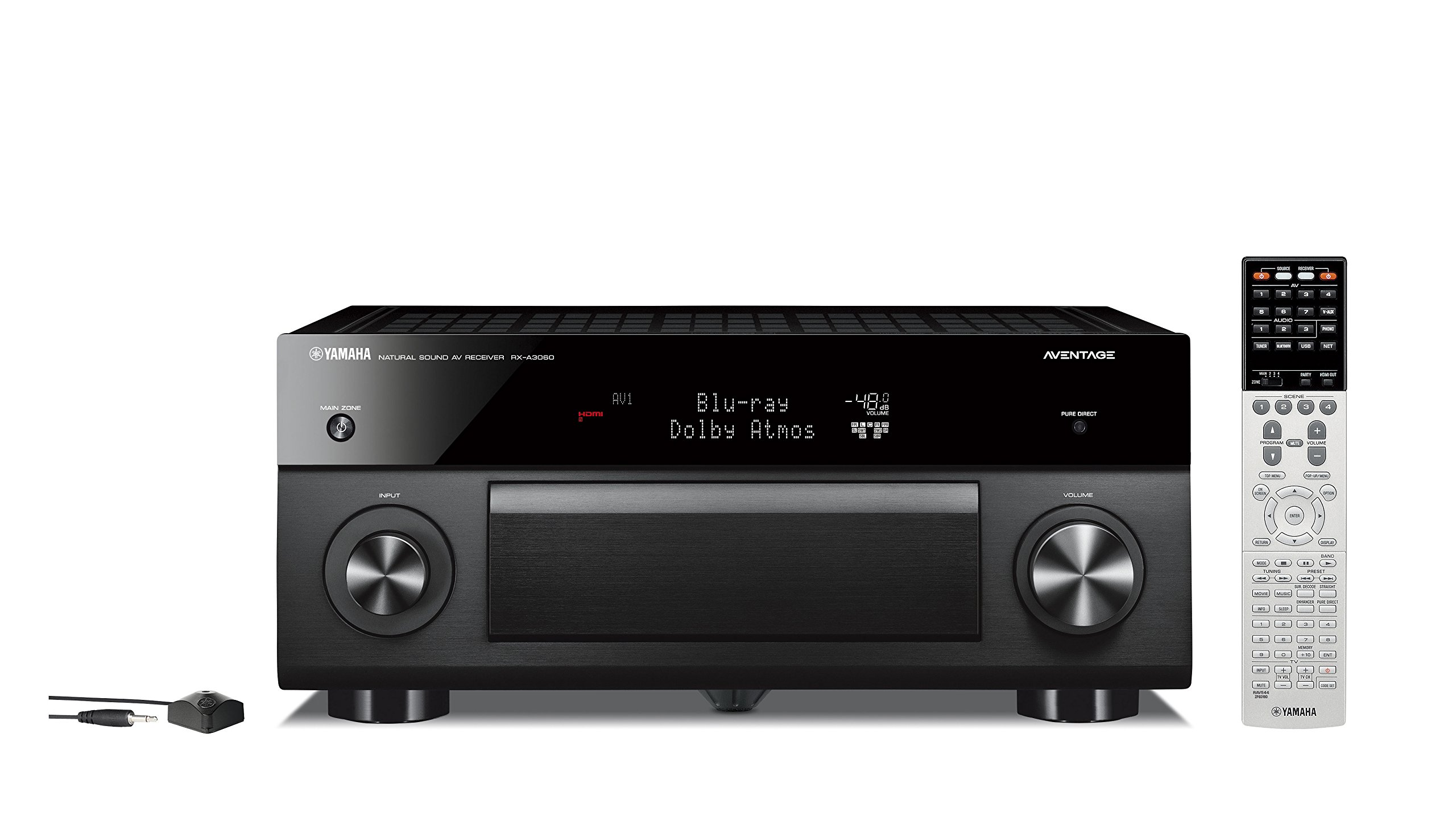 Yamaha RX-A3060BL 11.2 Channel Network Aventage AV Receiver by Yamaha