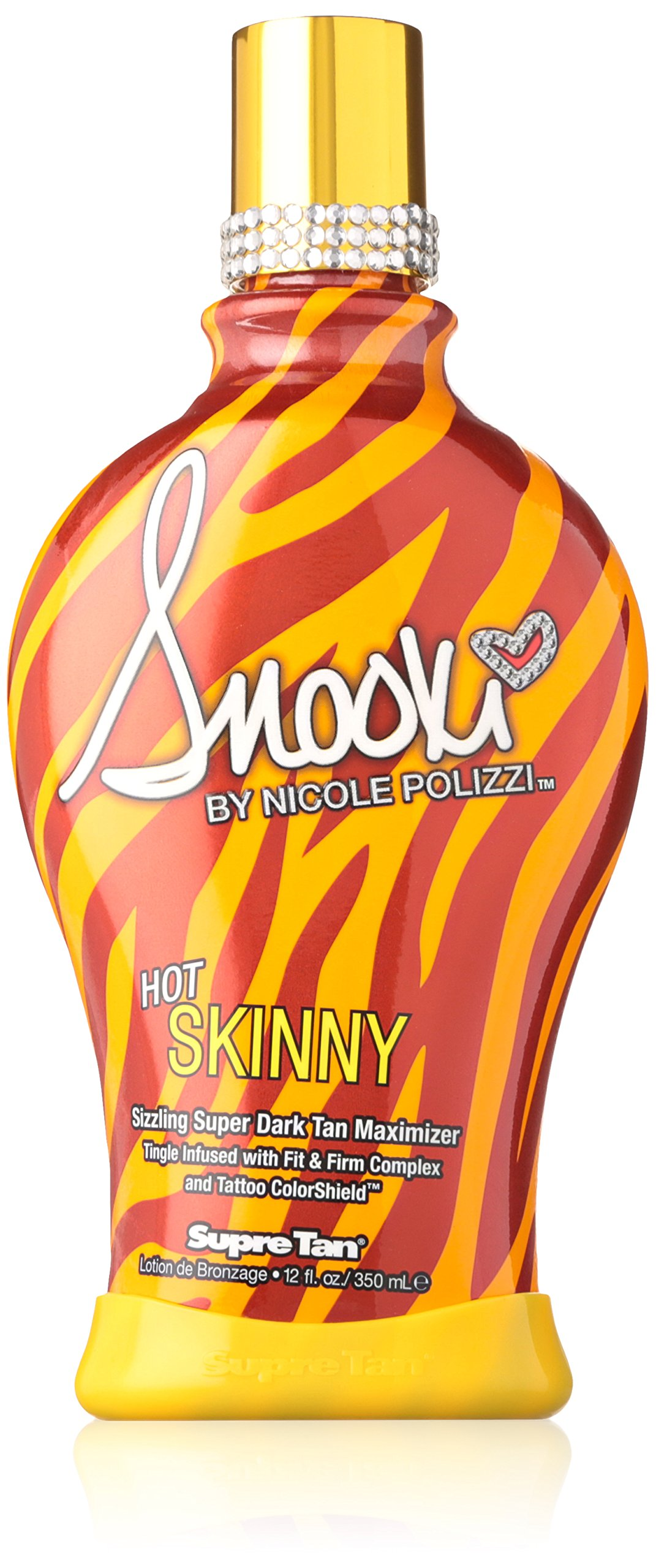 Supre Snooki Hot Skinny Sizzling Super Dark Maximizer, 12 Fluid Ounce