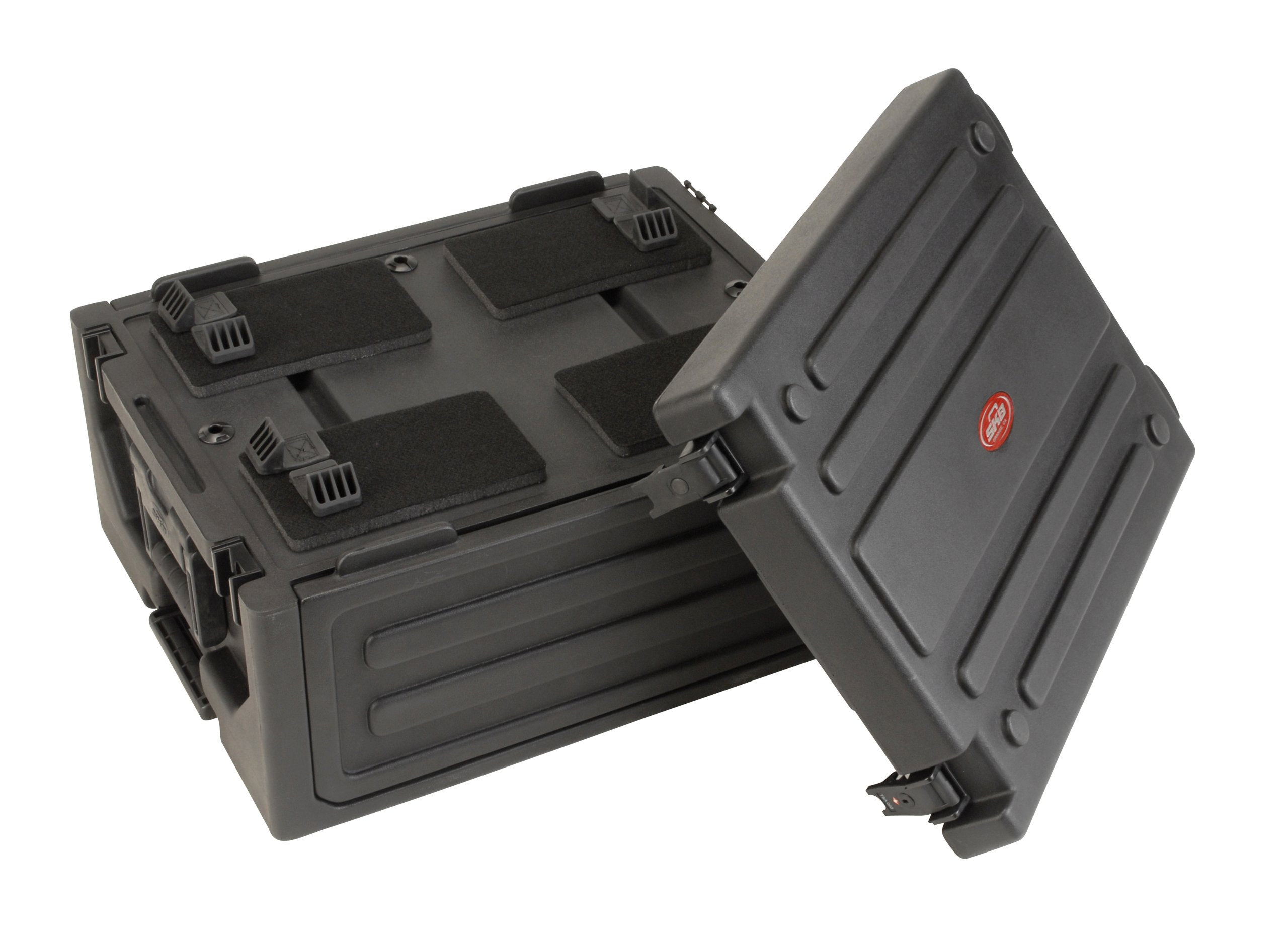 SKB Laptop/4U Rack with two step handle and wheels by SKB (Image #2)