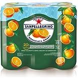 SANPELLEGRINO Bibite Gassate, ARANCIATA AMARA - 3 confezioni da 6 pezzi da 330 ml [18 pezzi, 5940 ml]