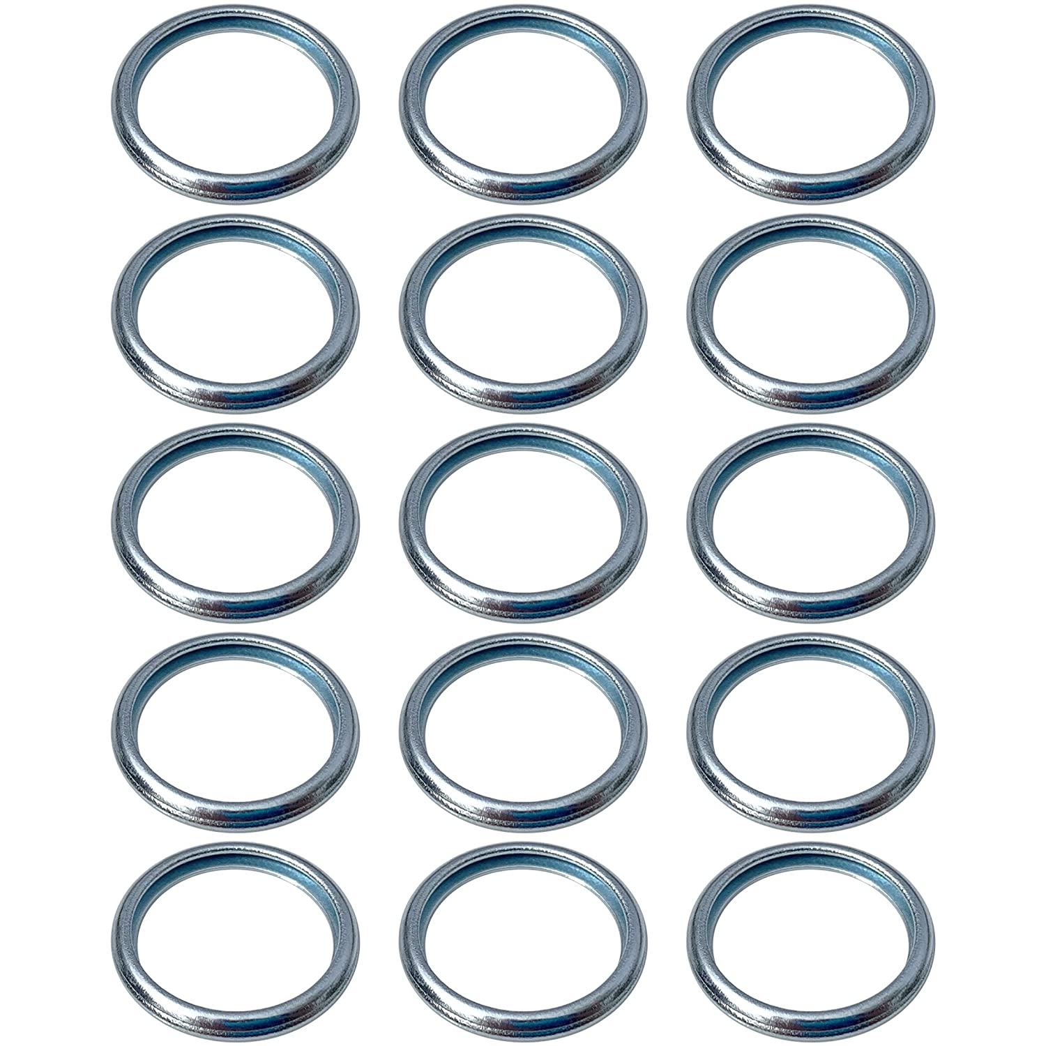 Pack of 15 Prime Ave OEM Engine Oil Drain Plug Washer Gaskets For Subaru Part# 803916010