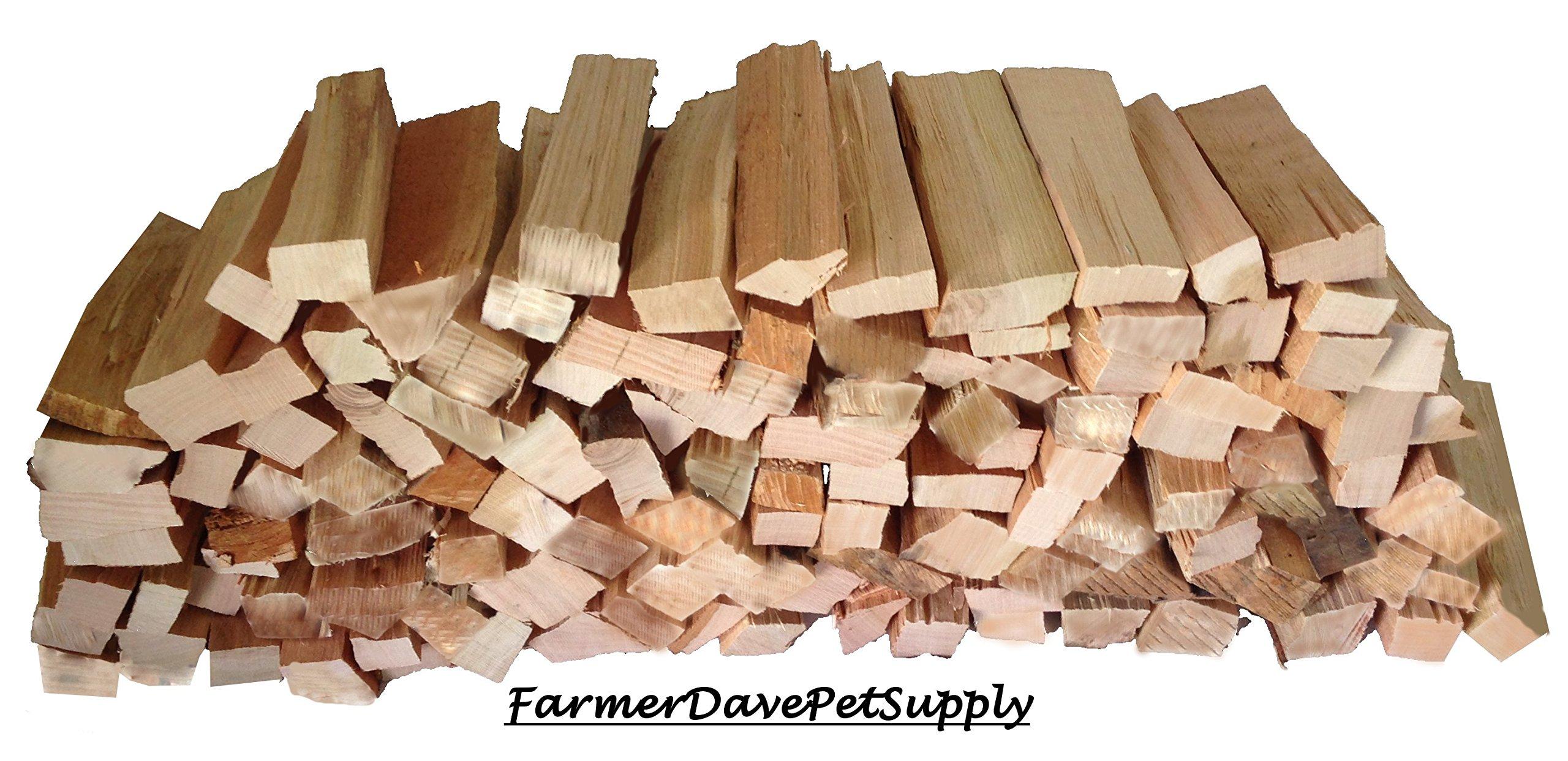 FarmerDavePetSupply 1200 Cubic Inch Cherry BBQ Grilling Smoker Wood Splits