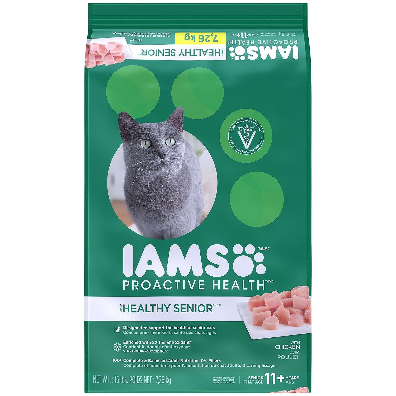 IAMS Proactive Health Senior Adult Dry Cat Food