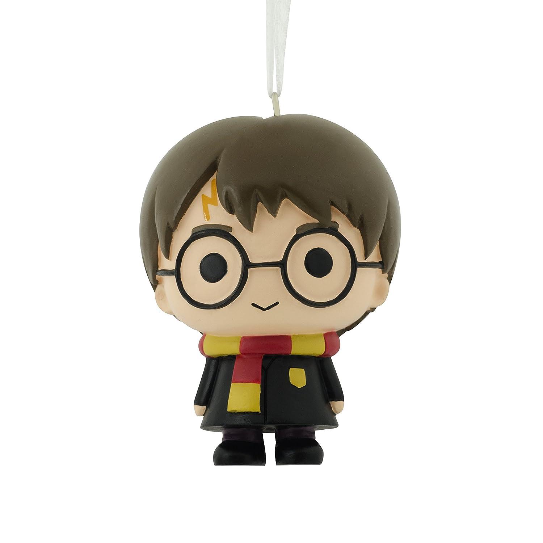 Amazon.com: 2017 Hallmark Harry Potter Dobby & Hedwig Christmas ...