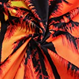 0f1bc97d5ff2 Leapparel Mens Coconut Tree Graphic Rompers Funny 3D Cartoon Jumpsuits 90s  Personalized Clothes Overalls Shorts Cool Pants XL