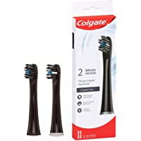 Colgate ProClinical Charcoal Black Replacement Electric Toothbrush Head Refills, 2 Pack