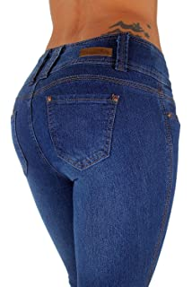 Perfect body PBJ0754 Colombian Jeans at Amazon Womens Jeans ...