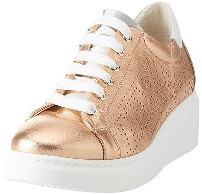 Donna-Walk Techno, Baskets Femme, Blanc (Bianco Bianco), 38 EUMelluso