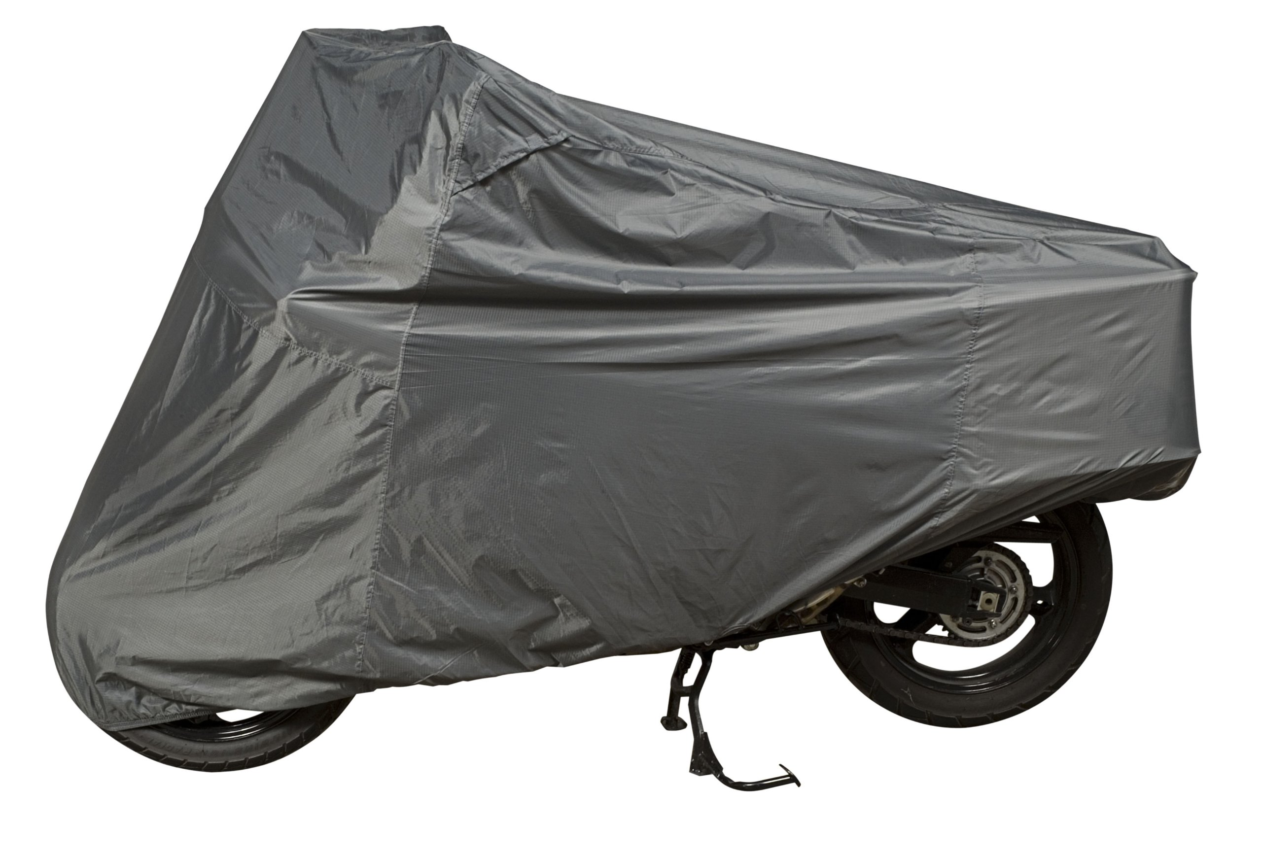 Dowco Guardian 26045-00 Ultralite Plus Water Resistant Indoor/Outdoor Motorcycle Cover: Grey, Adventure Touring