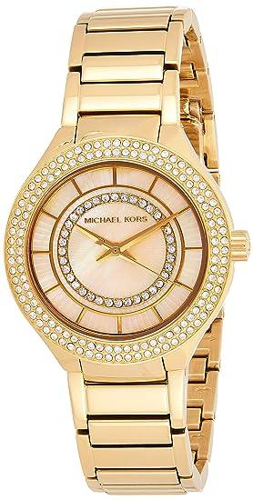 Michael Kors Reloj de mujer cuarzo 33mm correa y caja de acero ...