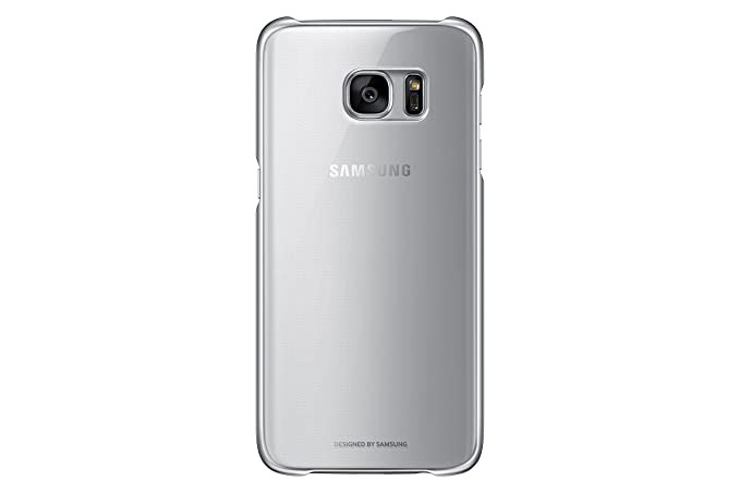 huge discount 4cc68 04236 Samsung Galaxy S7 edge Case Clear Protective Cover - Silver