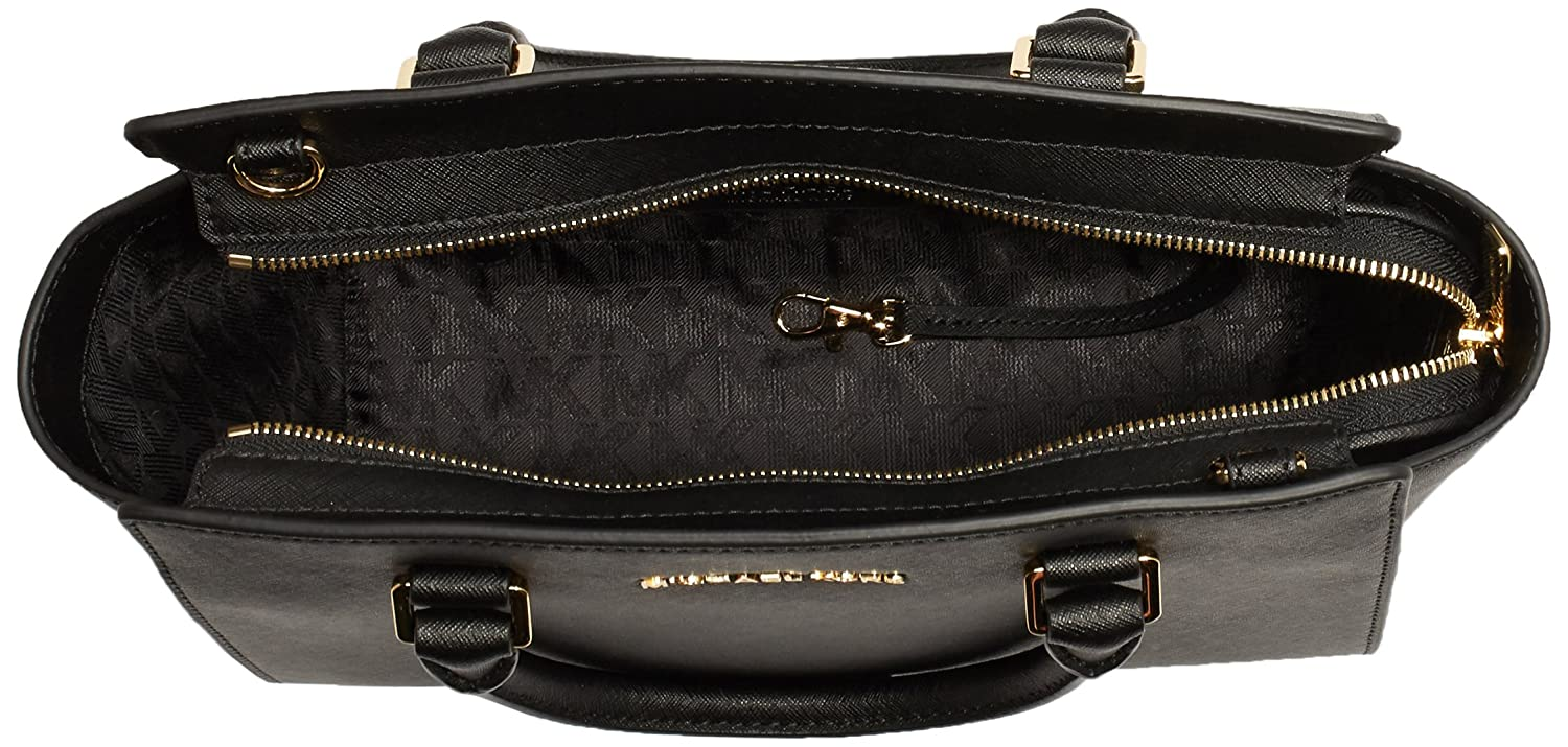 Amazon.com: MICHAEL Michael Kors Selma Medium TZ Satchel ...