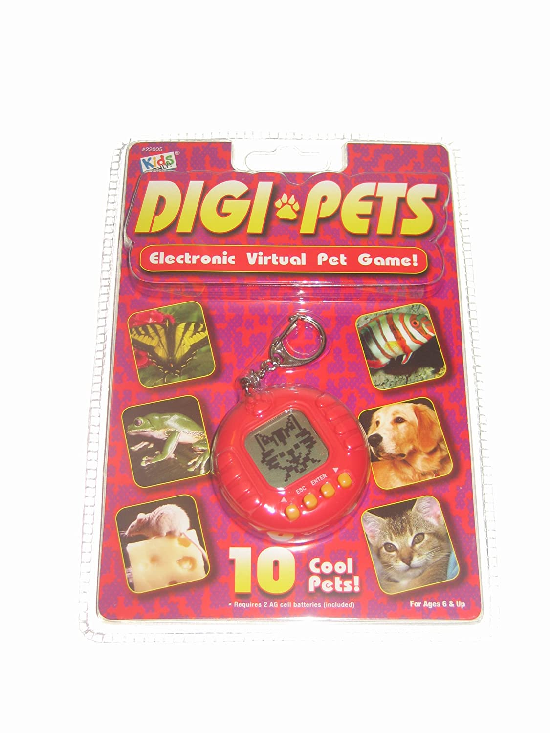 Digi Pets Electronic Virtual Pet Game Assorted Colors by Kids Only