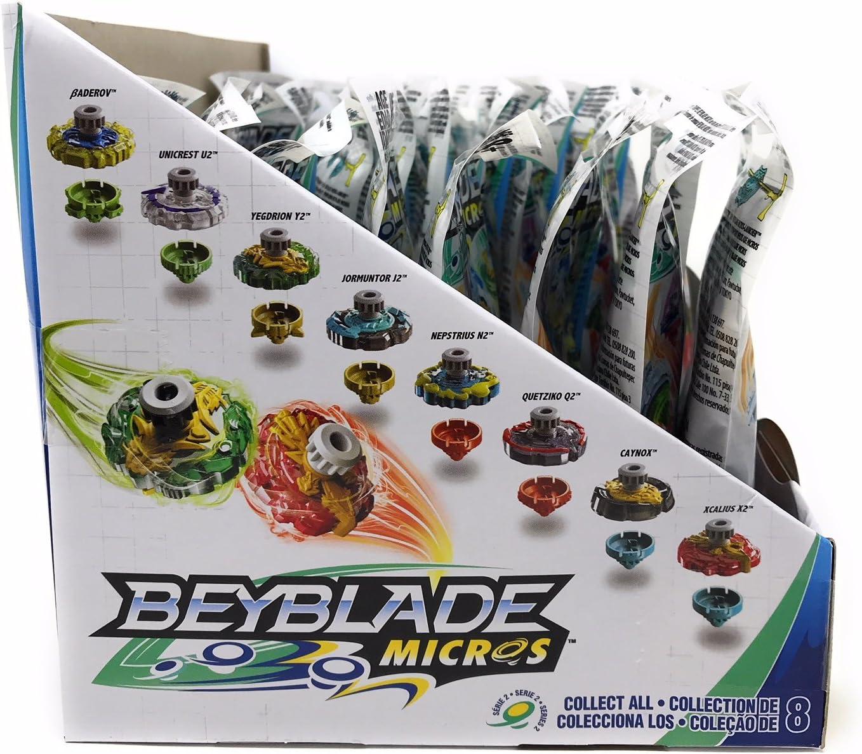 Case of 24 Beyblade Micros Series 2 Mini Tops Blind Bag