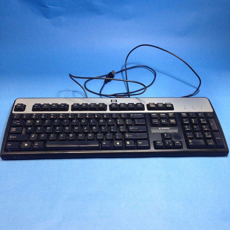 Teclado HP KU-0316 USB de segunda mano muy limpio