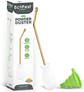 Pest Control Powder Duster | Large Diatomaceous Earth Bulb Duster, Sprayer, and Applicator | Perfect for Organic Gardening and Eco-Friendly Treatment for Bed Bugs, Fleas, Roaches, Ants and Other Pests