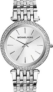 Michael Kors Reloj analógico para Mujer de Cuarzo con Correa en Acero Inoxidable MK3203