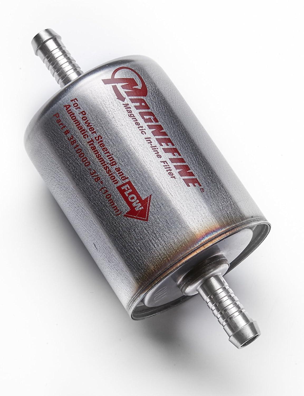 Magnefine 3//8 Magnetic Inline Transmission//Power Steering Filter