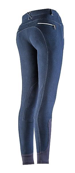 EQUI-THÈME Culotte Equitation Pantalon Zipper  Amazon.fr  Sports et ... 55d7aab61c5