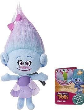 "DreamWorks Trolls Fuzzbert 11/"" Hug N Plush Doll Colorful Huggable Plush Hasbro"