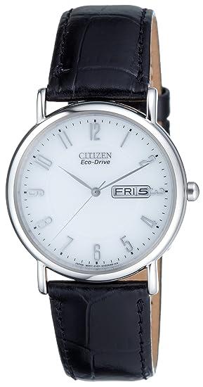 Citizen BM8241-01BE - Reloj (Reloj de pulsera, Masculino, Acero inoxidable,