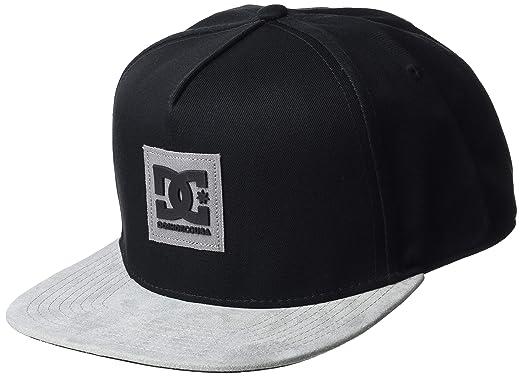 02033ca0e04 DC Shoes Herren Dacks Baseball Cap Schwarz (Black Kvj0) One Size  (Herstellergröße