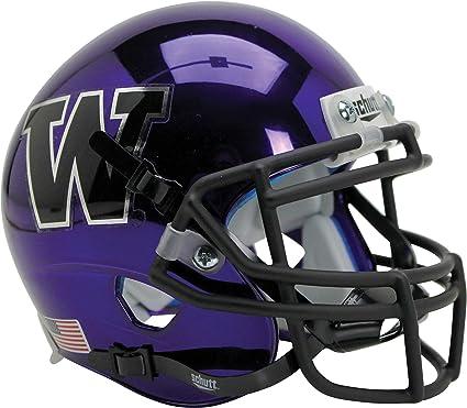 Washington Huskies Schutt White Mini Football Helmet College Mini Helmets