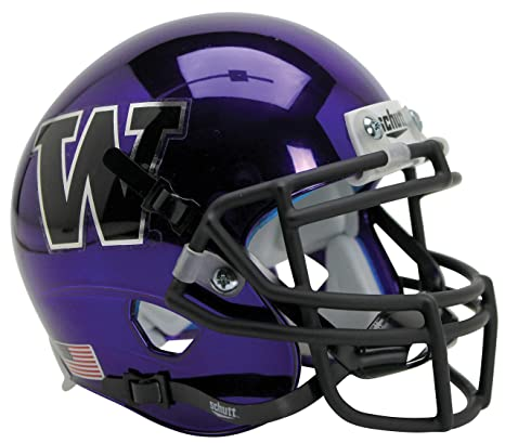 more photos 45c18 06bbe Schutt NCAA Washington Huskies Mini Authentic XP Football Helmet
