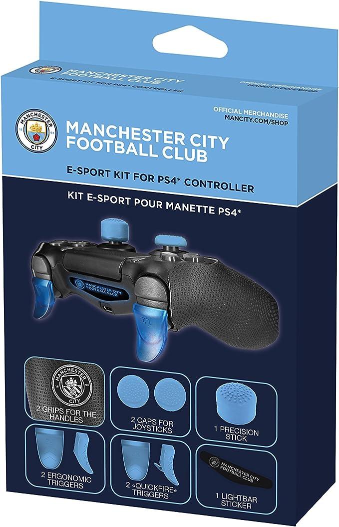 Manchester City FC Subsonic - Kit para Mando de PS4 con Licencia ...