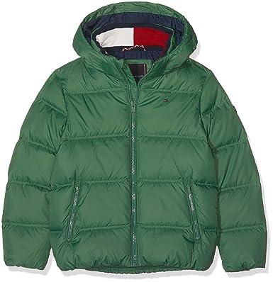 bc57fbcf0818 Tommy Hilfiger Boy s Essential Basic Down Jacket  Amazon.co.uk  Clothing