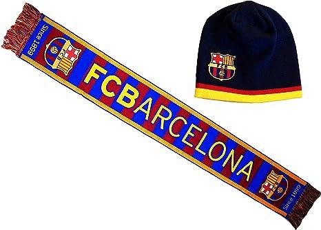 Bufanda Barça, oficial de la colección, FC Barcelona, fútbol-Liga ...