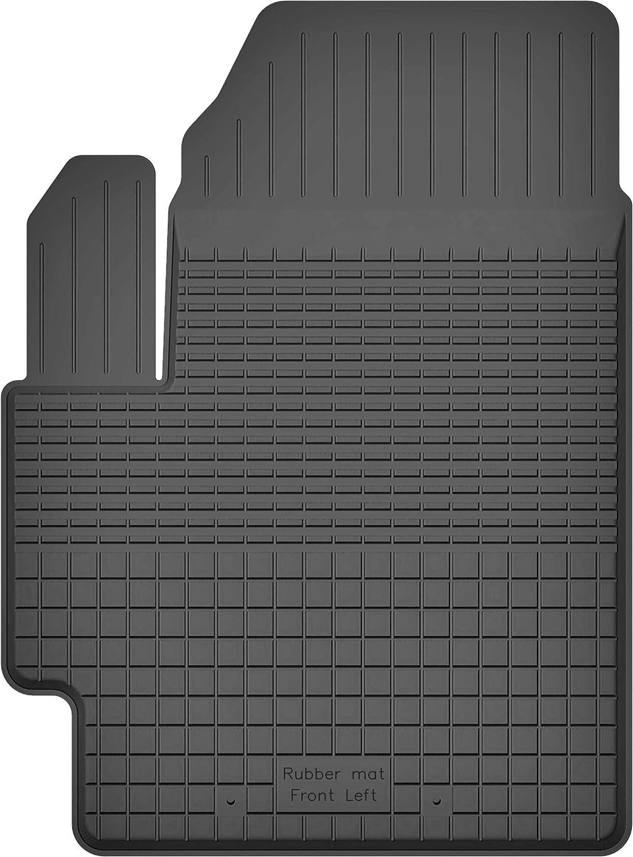 Ko Rubbermat 1 Stück Gummimatte Fußmatte Fahrer Geeignet Zur Citroen C3 Picasso Bj 2008 2016 Ideal Angepasst Auto