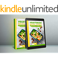 """VEGETARIAN MEAL PREP: """"Guild lines To Simplify Nutritional Life On Vegetarian Diet And Cookbook That Helps"""" (English Edition)"""