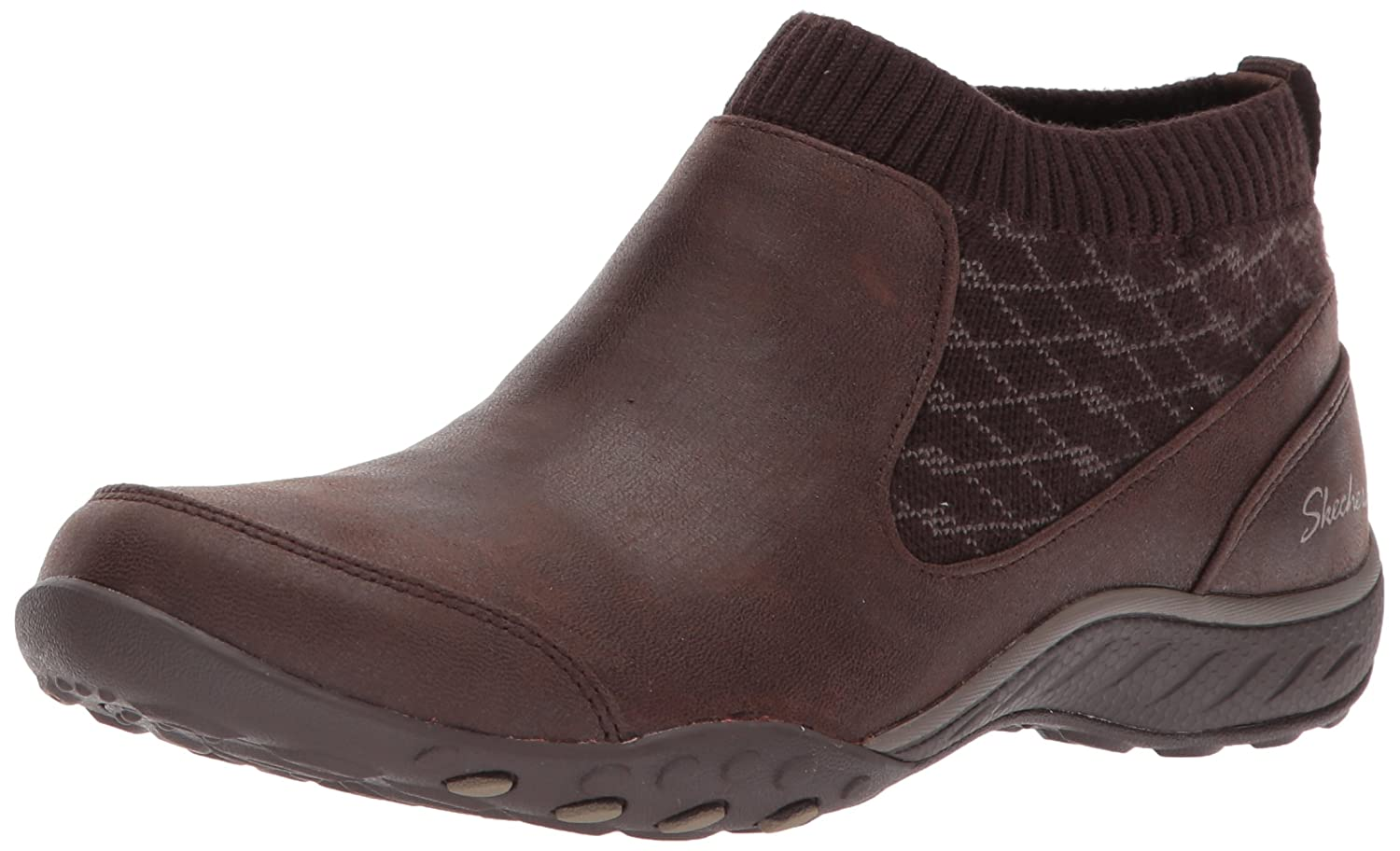 Skechers Women's Breathe Easy Declare Sneaker B072ZBS61G 7.5 B(M) US|Chocolate