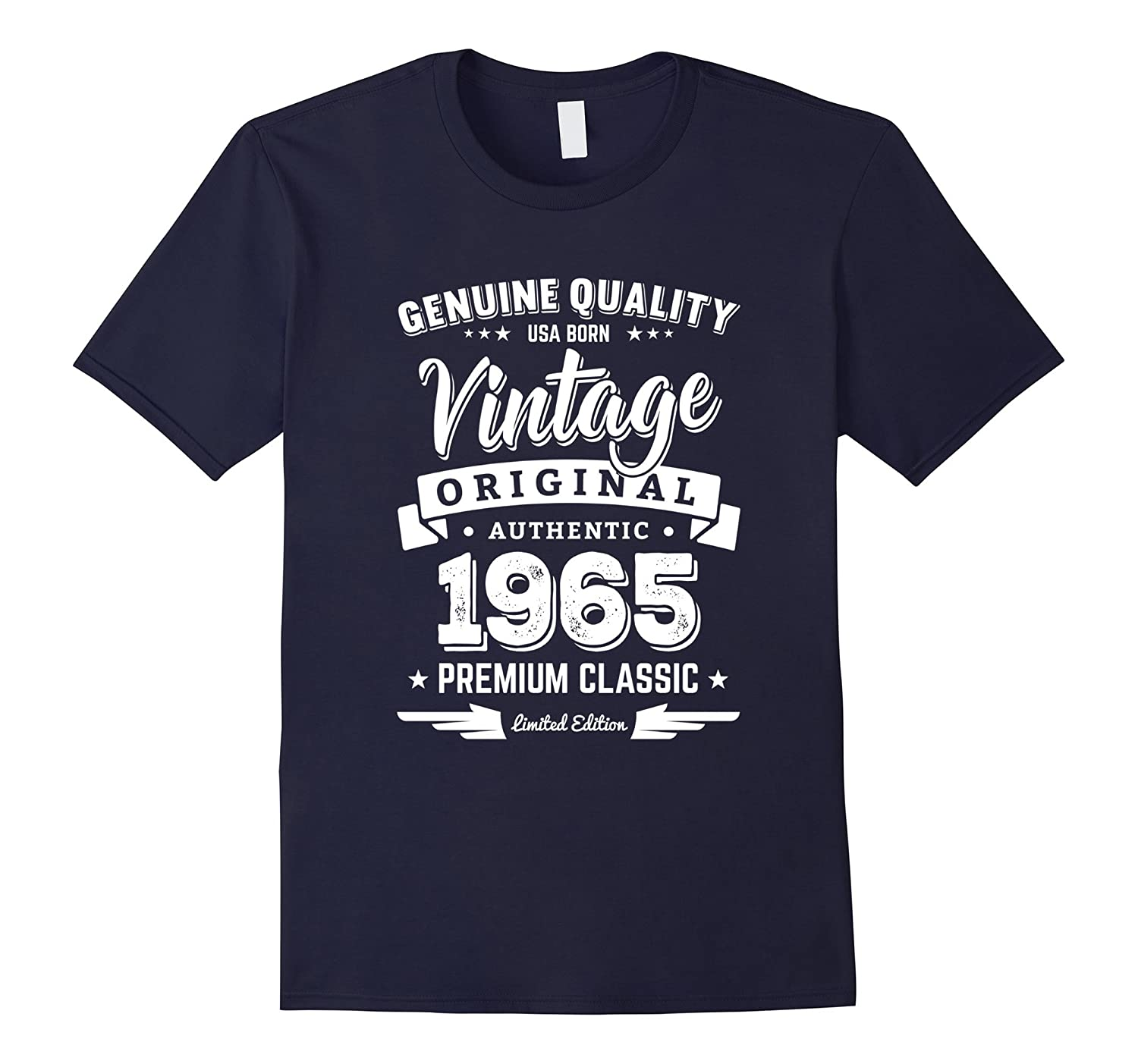 1965 Vintage Birthday Present T-Shirt - 52nd Birthday Gifts-ANZ