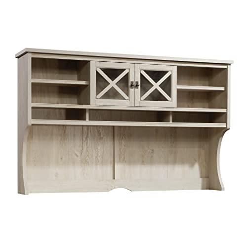 Sauder Costa Large Hutch, Chalked Chestnut finish