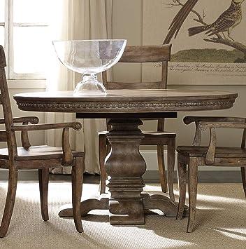 Amazon.com - Hooker Furniture Sorella Round Pedestal Dining ...