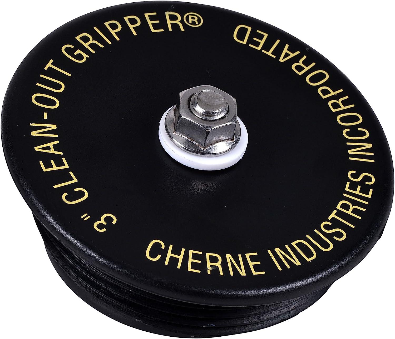 "Cherne 270178 Clean-Out Gripper Mechanical Test Plug, 3"""