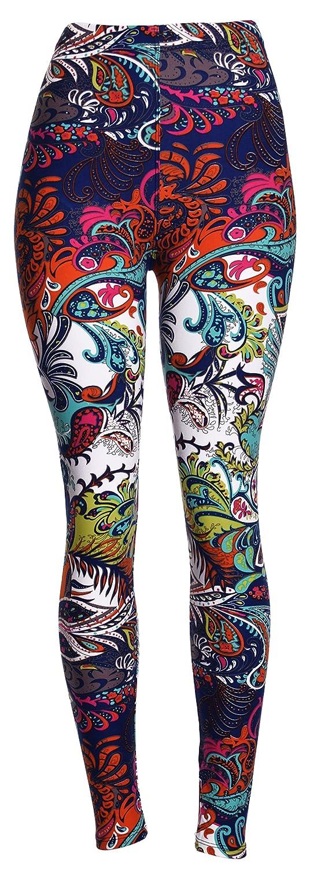 Best Selling Printed Brushed Leggings Plus Size (L - XXL)