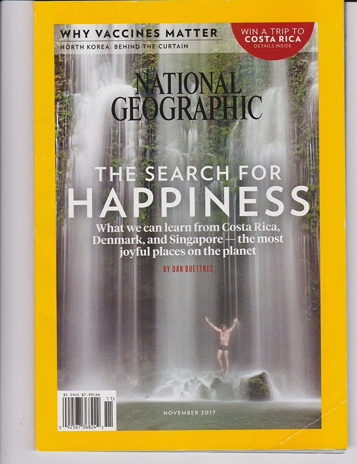 NATIONAL GEOGRAPHIC MAGAZINE NOVEMBER 2017 Unbranded