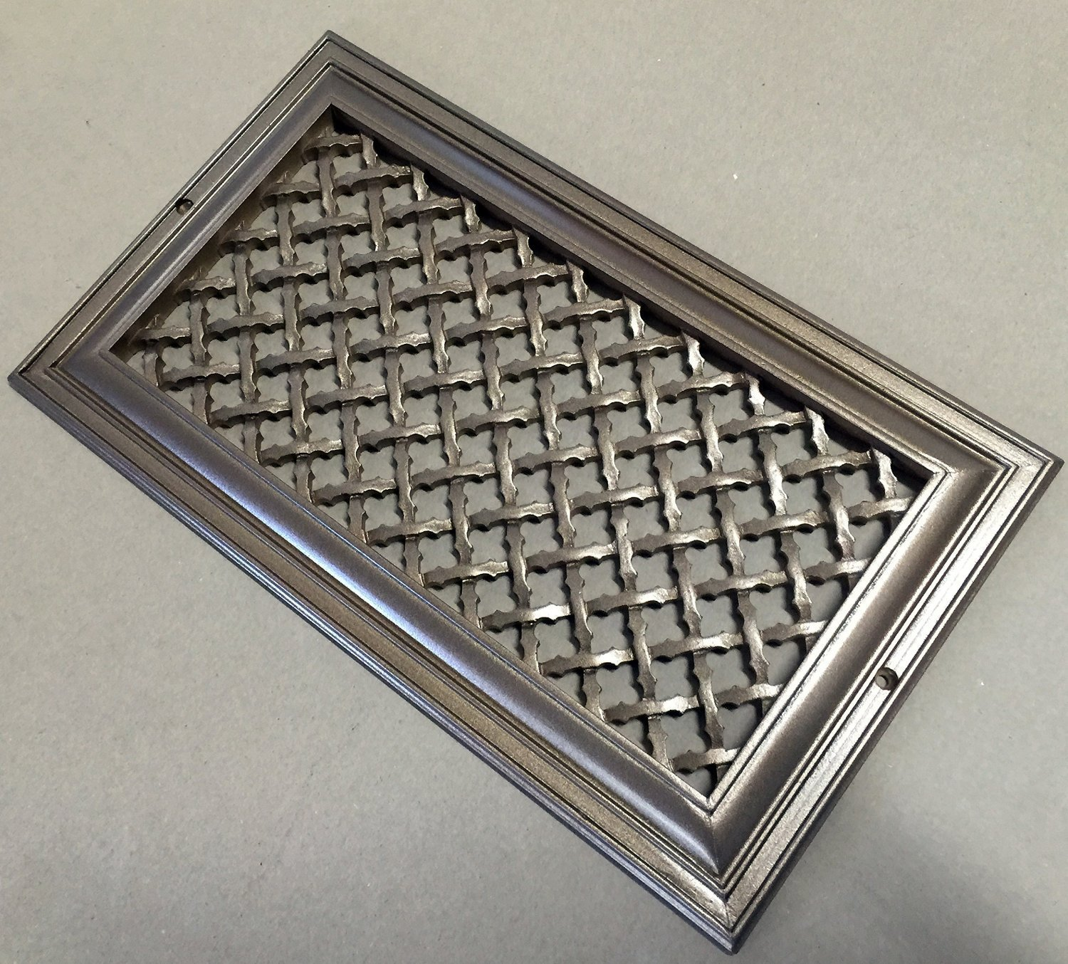 Registers grilles vents decorative vent cover for a for 12x6 floor register