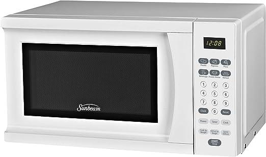 Amazon.com: Sunbeam SGS90701W horno microondas de 0.7 pies ...