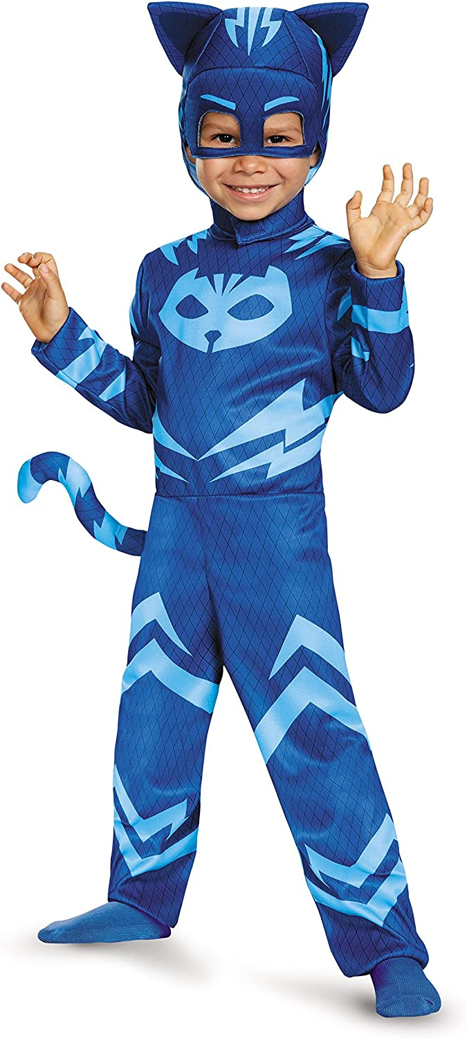 Catboy Classic Toddler PJ Masks Costume, Large/4-6