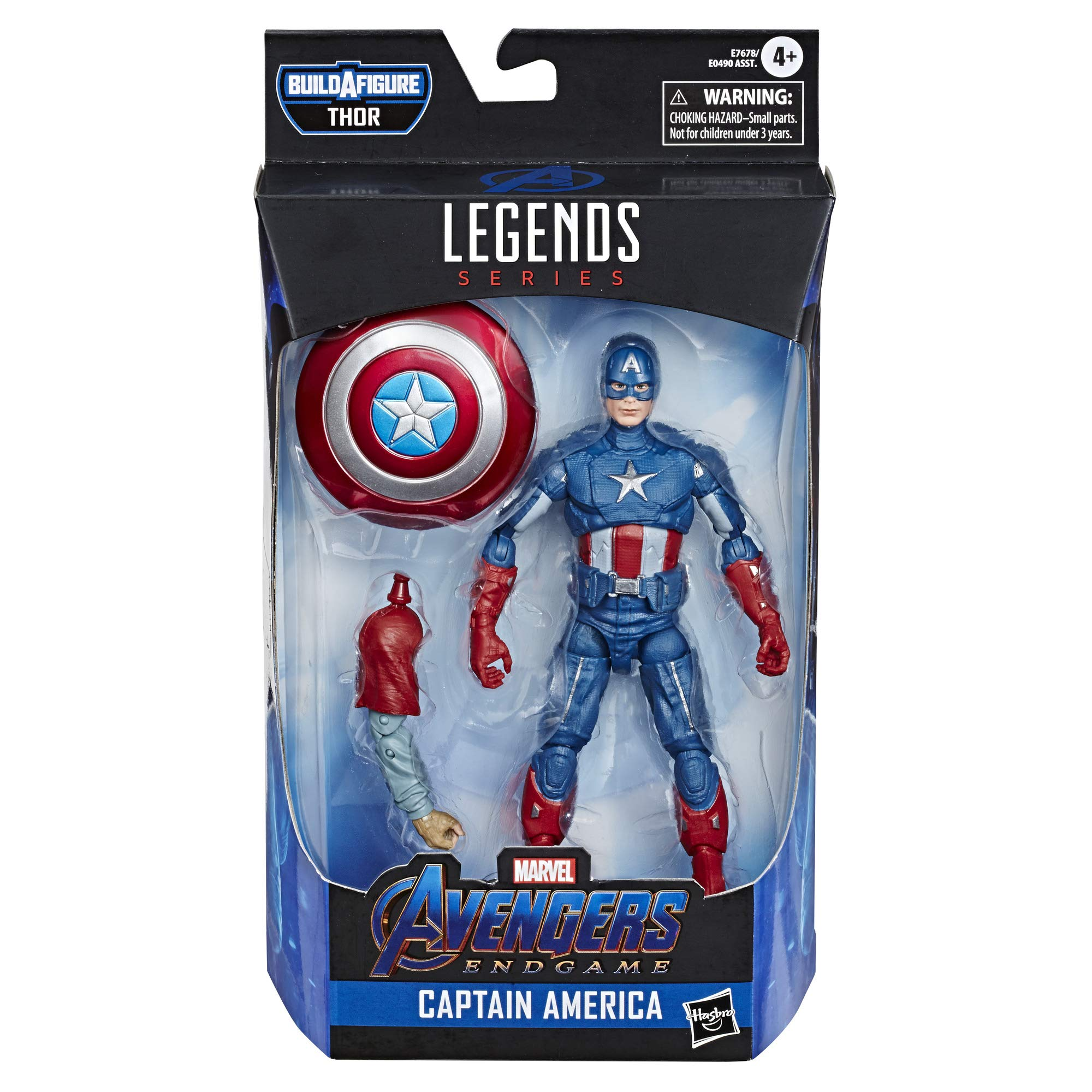 Avengers Marvel Legends Series Endgame 6'' Collectible Action Figure Captain America Collection, Includes 1 Accessory by Avengers (Image #2)