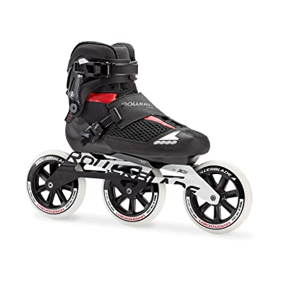 Rollerblade Endurace Pro 125 Unisex Adult Fitness Inline Skate, Black and Red, Premium Inline Skates : Sports & Outdoors